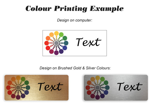 Colour Printing Example